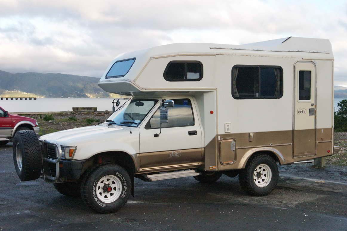 Truck Camper Of The Day Defineyourroad Toyota Camper Truck