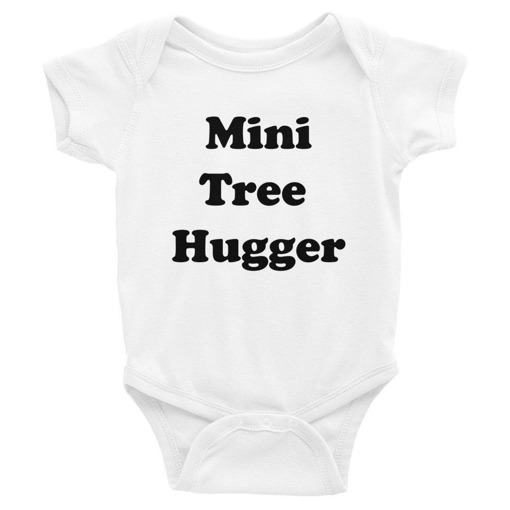 Mini Tree Hugger Bodysuit Tree Hugger Kids Fashion Bodysuit