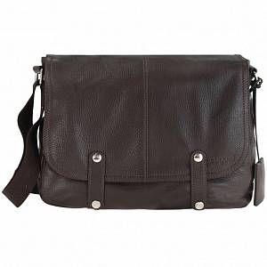 Photo of bugatti Brisbane Messenger Cartella pelle 35 cm scomparto Laptop marrone