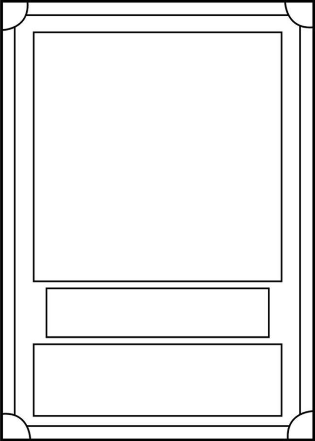 Trading Card Game Template Free Download Trading Card Template Card Templates Printable Baseball Card Template