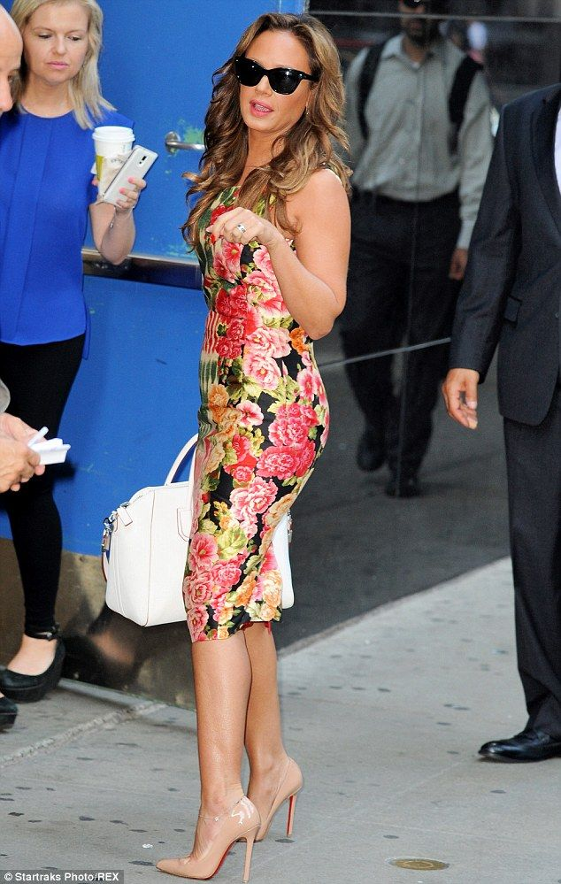 She's a seasoned vet! Leah Remini dropped by the Good Morning America studios in New York ...