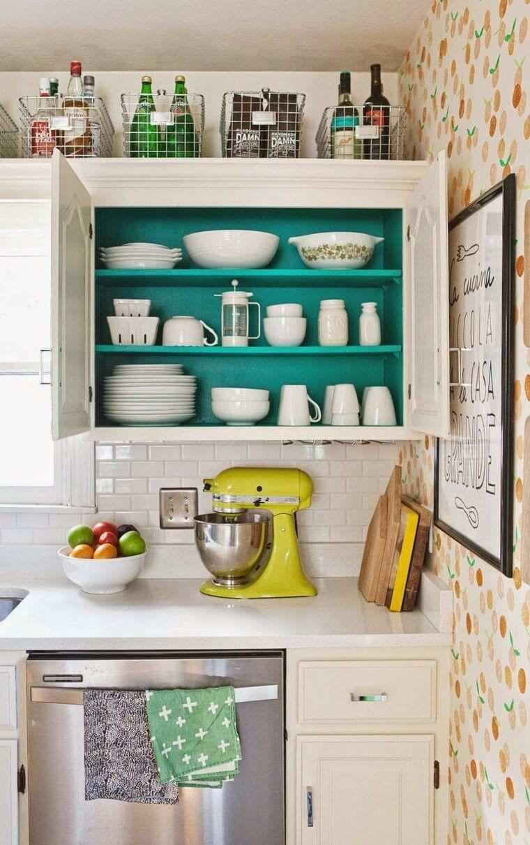 Bezaubernd Retro Küche Foto Von Deco Retro-küche Und Schicke Landschaft: 33 Ideen