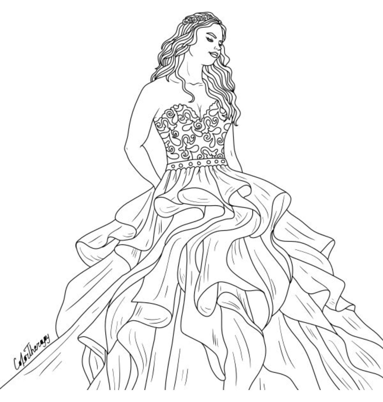 Coloring pages for adults app ~ Pin by Color Therapy App on Color Therapy Coloring Pages ...