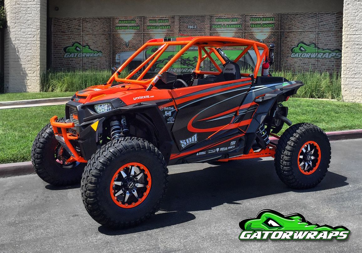 Orange Utv Scene Polaris Rzr Rzr Rzr Turbo Polaris Rzr
