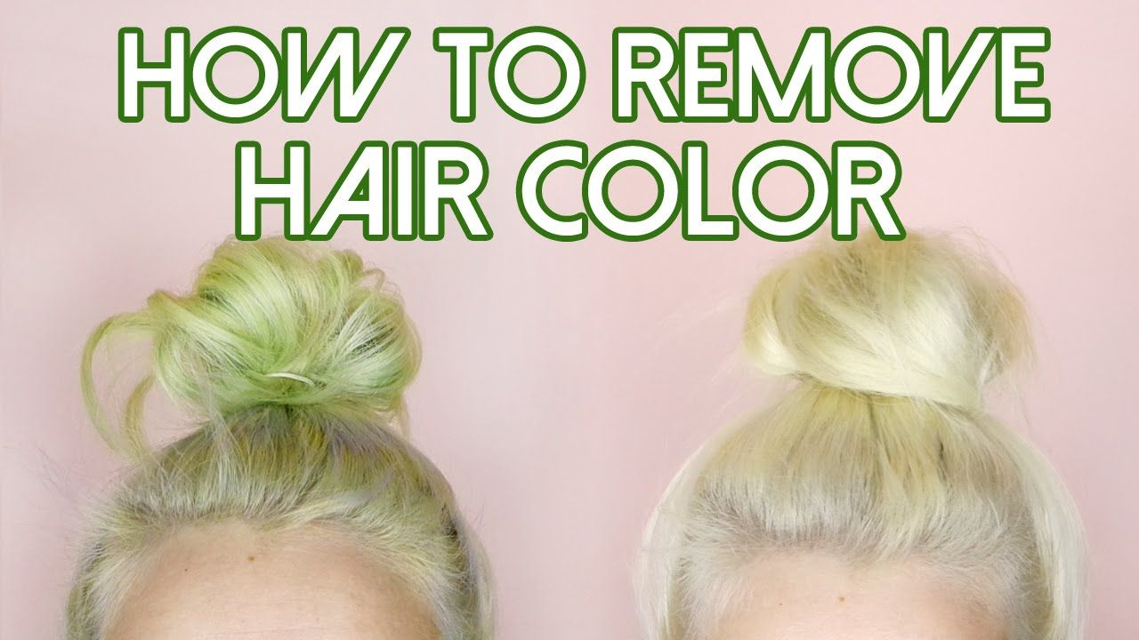 How To Remove Hair Color Stripping For Stained Hair Blue Green Red By Tashaleelyn Color Stripping Hair Hair Color Remover Temporary Hair Dye