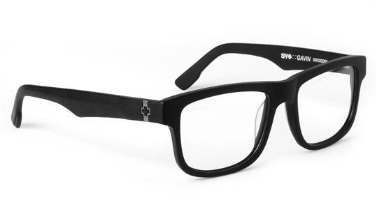 0f2ab0cd1a Spy Eyeglasses   Gavin Matte Black
