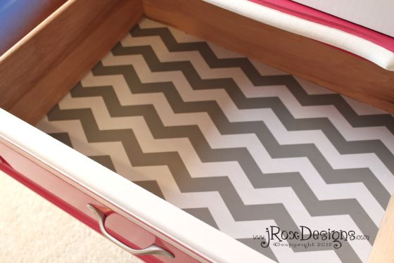 Personalize Your Dresser With Drawer Liners Nursery
