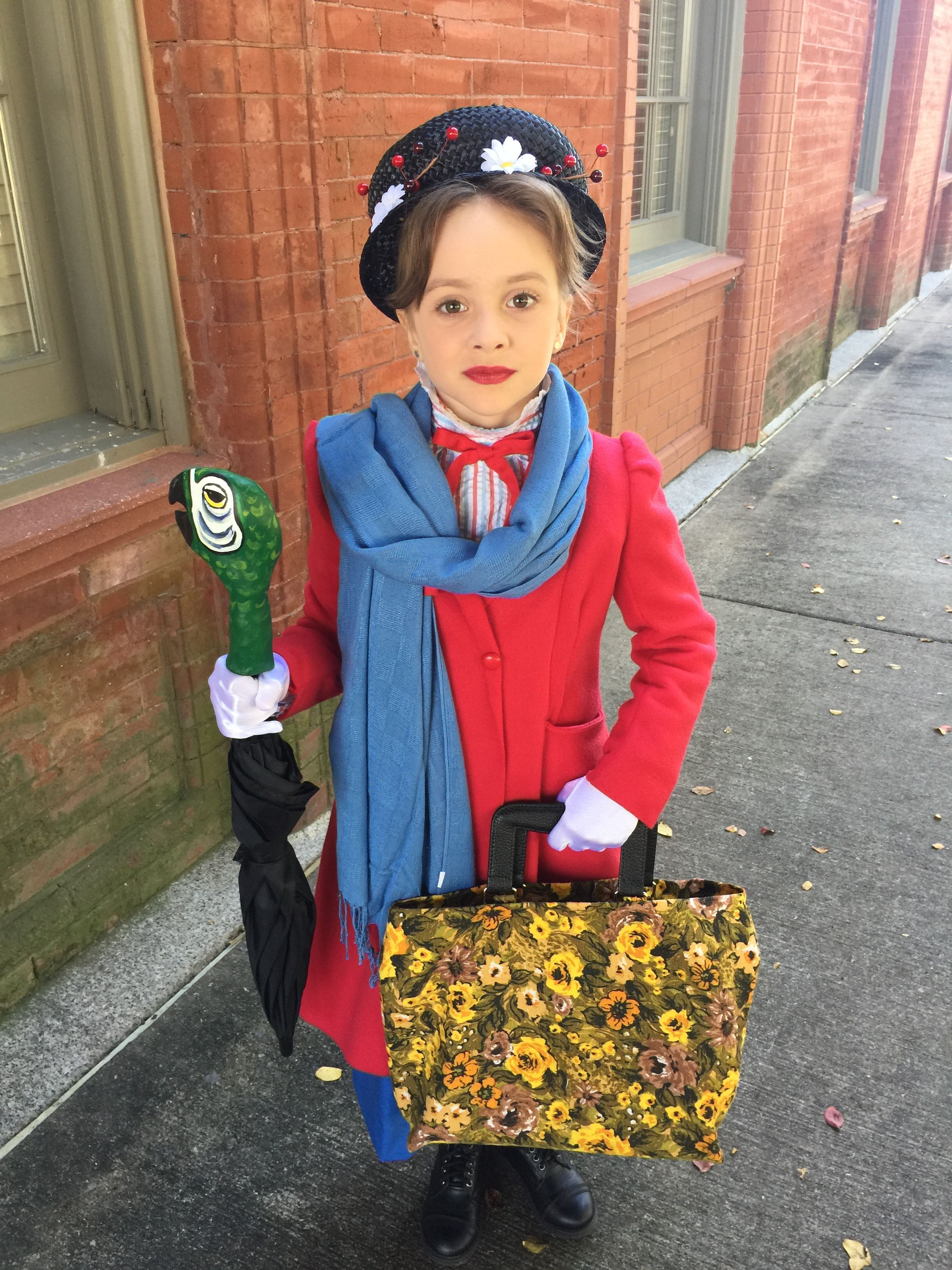 Girls Mary Poppins Costume Mary Poppins Costume Mary Poppins Halloween Costume Mary Poppins Costume Kids