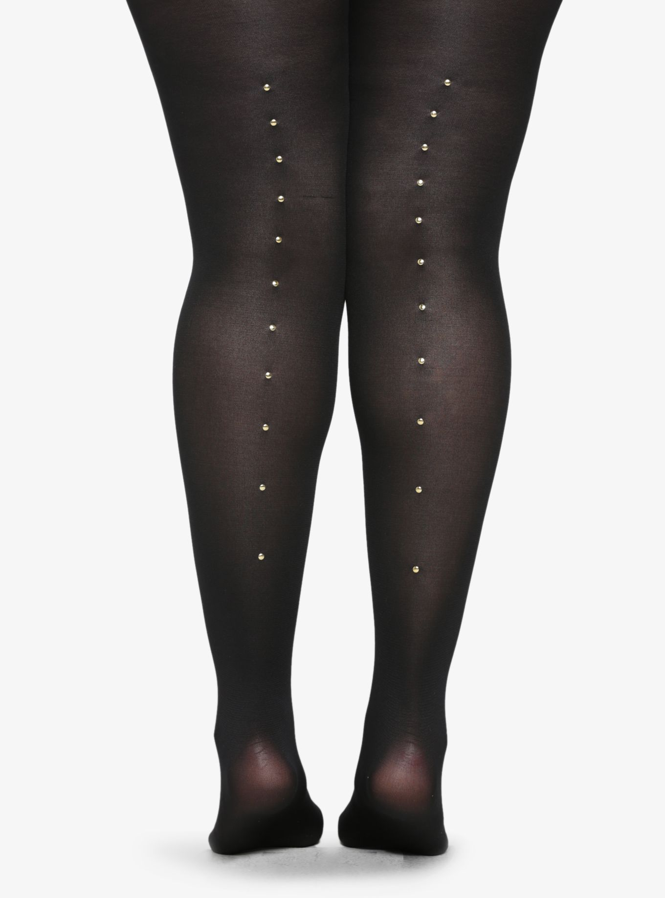 2c63ef813ccc0 Studded Back Opaque Tights | Torrid | # PLUS SIZE | Opaque tights ...