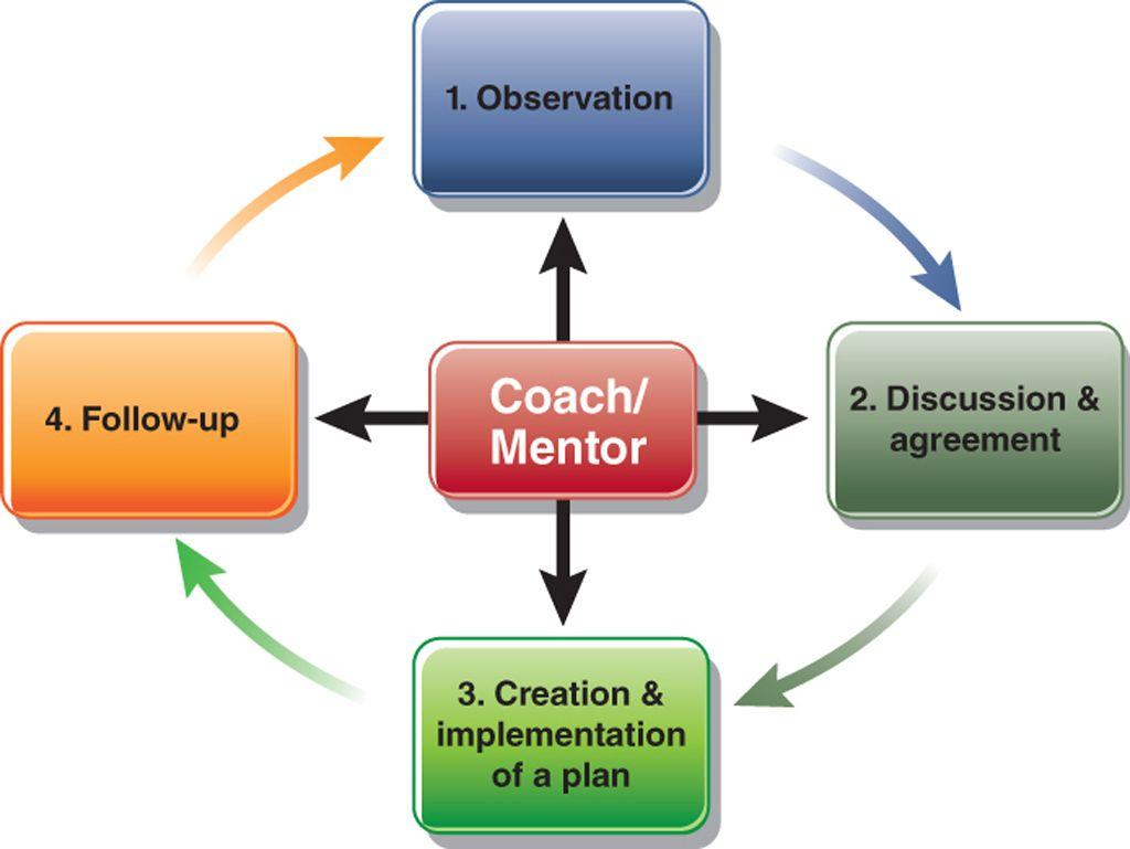 Diagram Of The Coaching Process