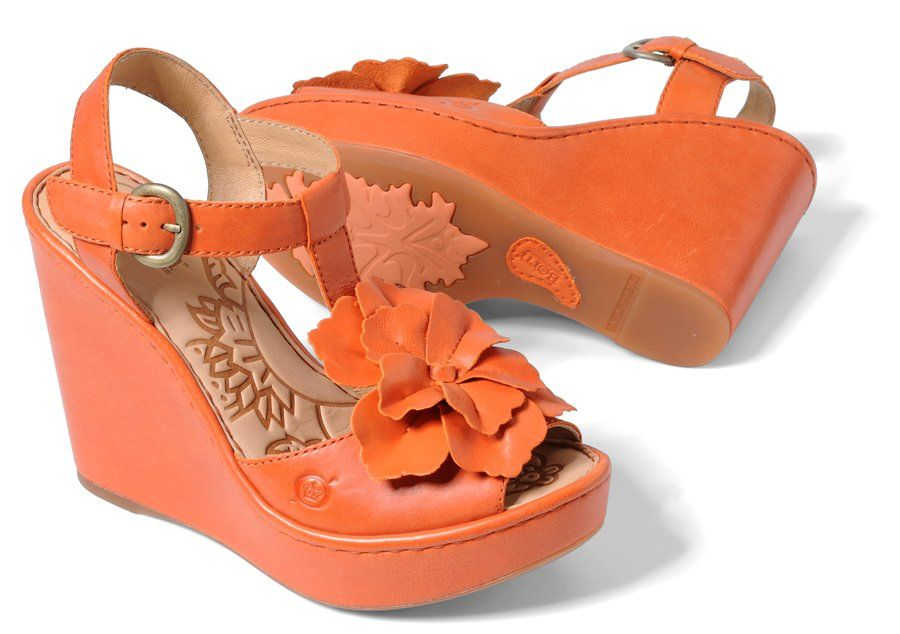 Accessories should always include an adorable pair of shoes… we love these Azalea sandal's by Born.