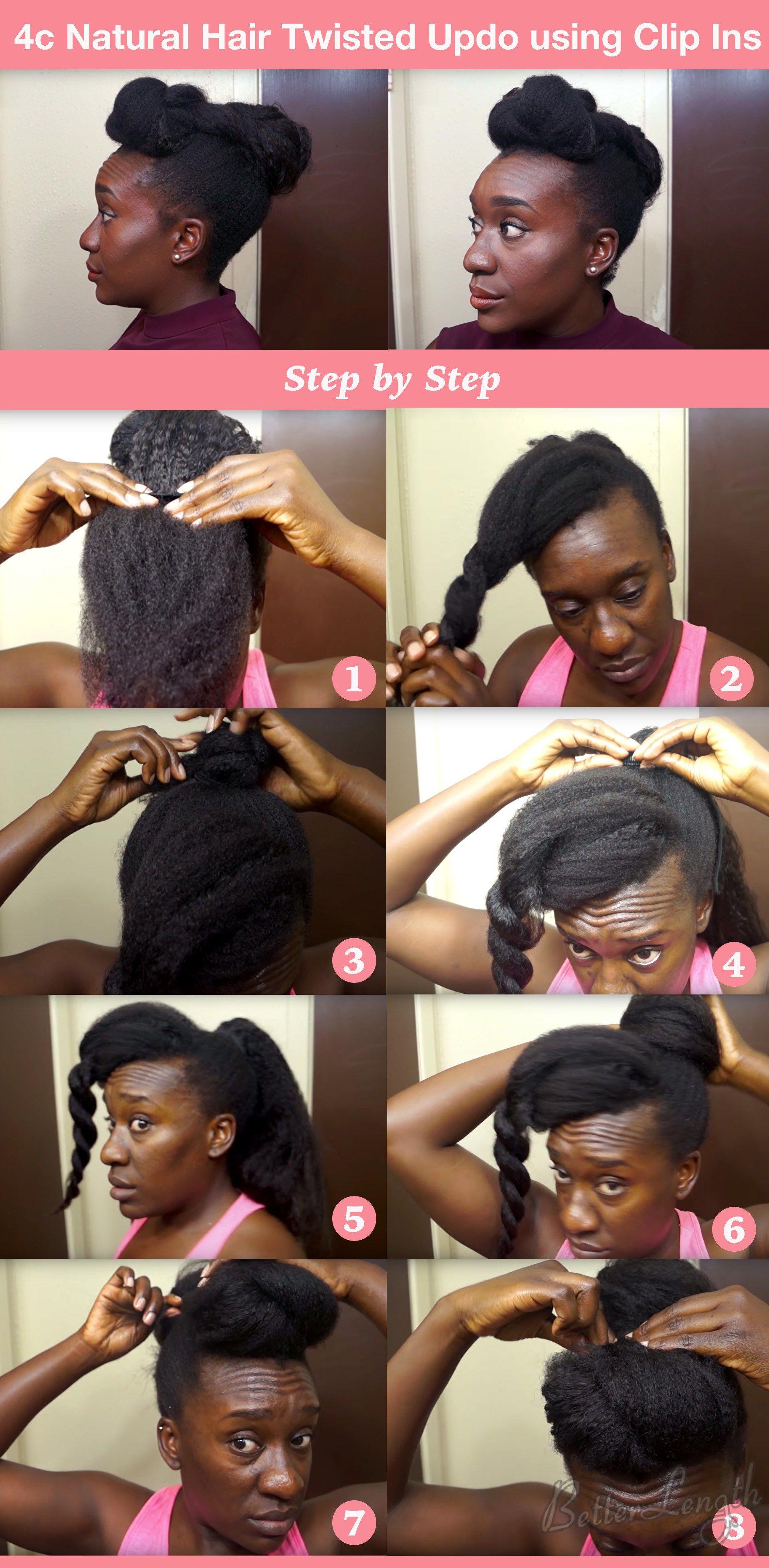 Top 6 Quick Easy Natural Hair Updos Natural Hair Styles Natural Hair Updo Easy Hair Updos
