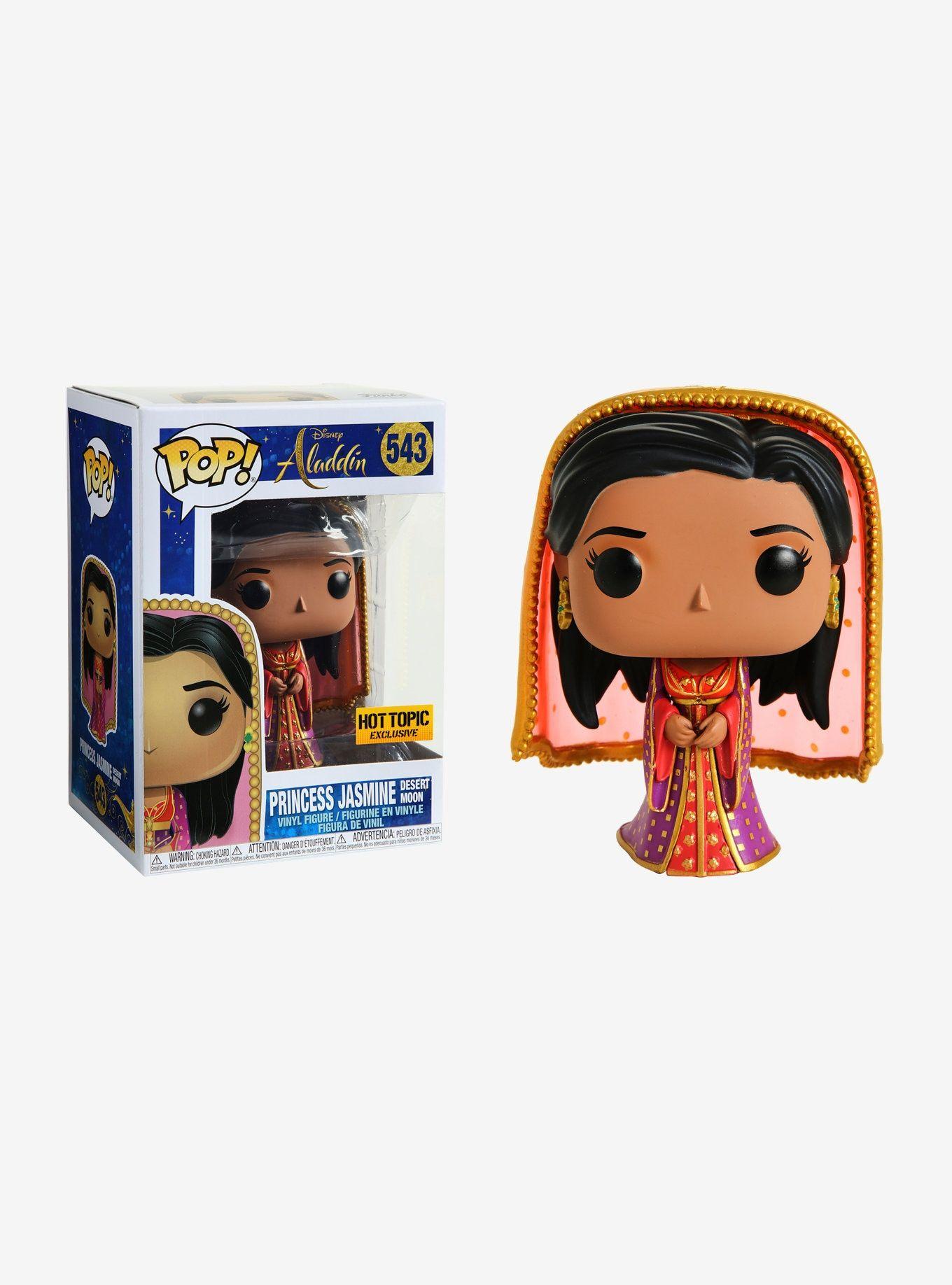 Vinyl Figure Aladdin Disney Funko Princess Jasmine Desert Moon Exclusive Pop