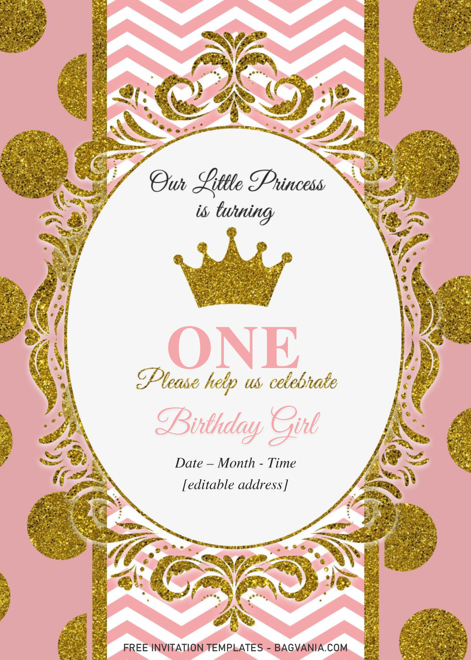 Royal Princess Baby Shower Invitation Templates Editable D Princess Baby Shower Invitation Free Printable Baby Shower Invitations Royal Princess Baby Shower