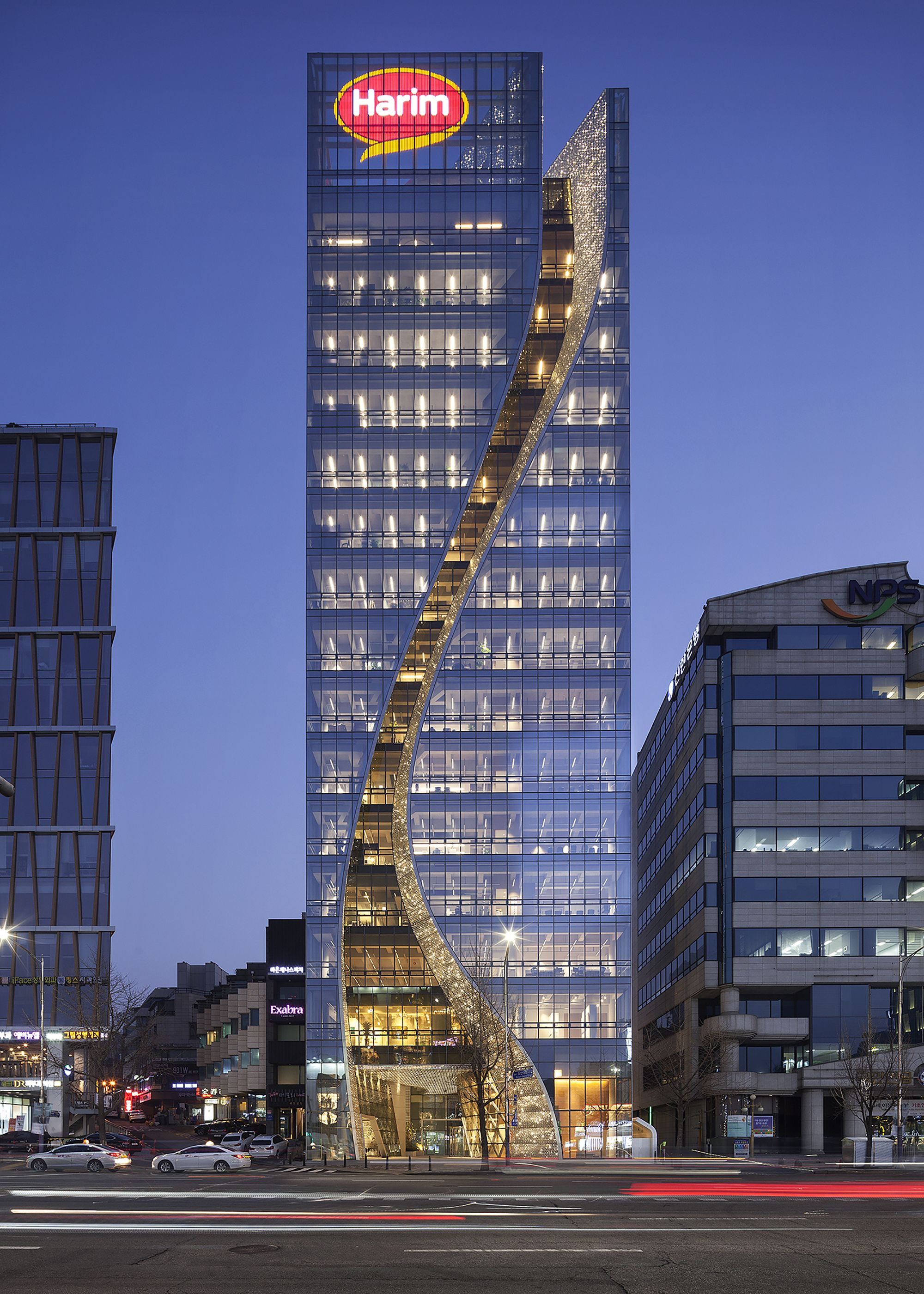 Image 1 of 20 from gallery of Harim Group Headquarters Building / The Beck Group. Photograph by Sung Hoon Yum
