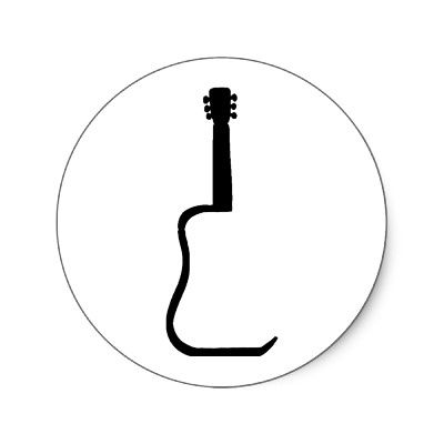 guitar silhouette inspirations board pinterest guitars