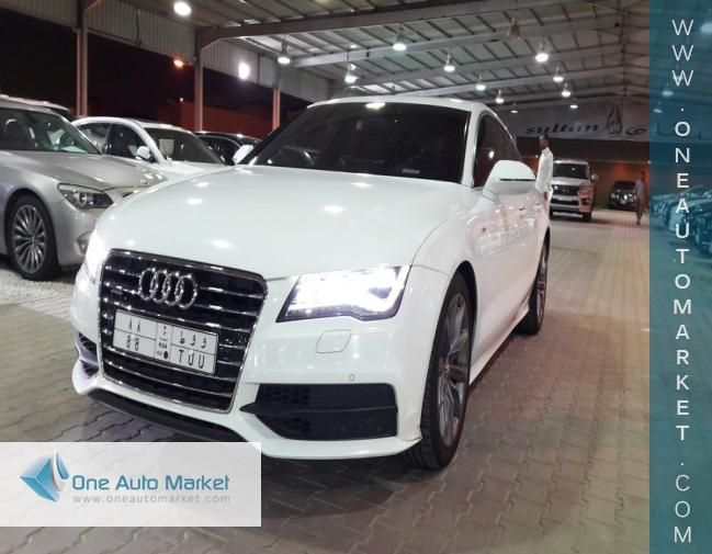 2013 Audi A7 For Sale | Used | Riyadh Saudi Arabia | One