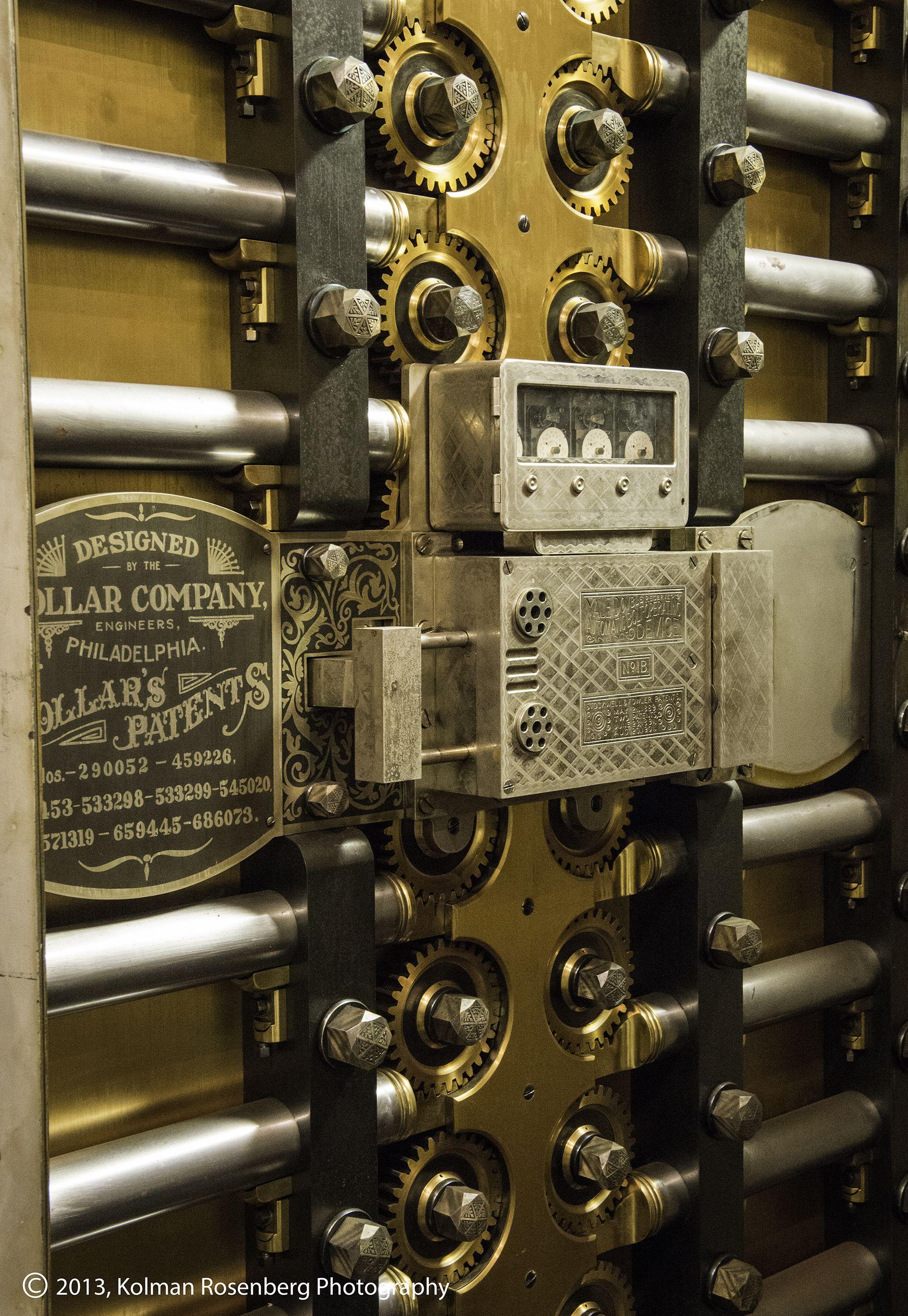 Beautiful Historic Vault Door Cleveland Trust Bank 2012