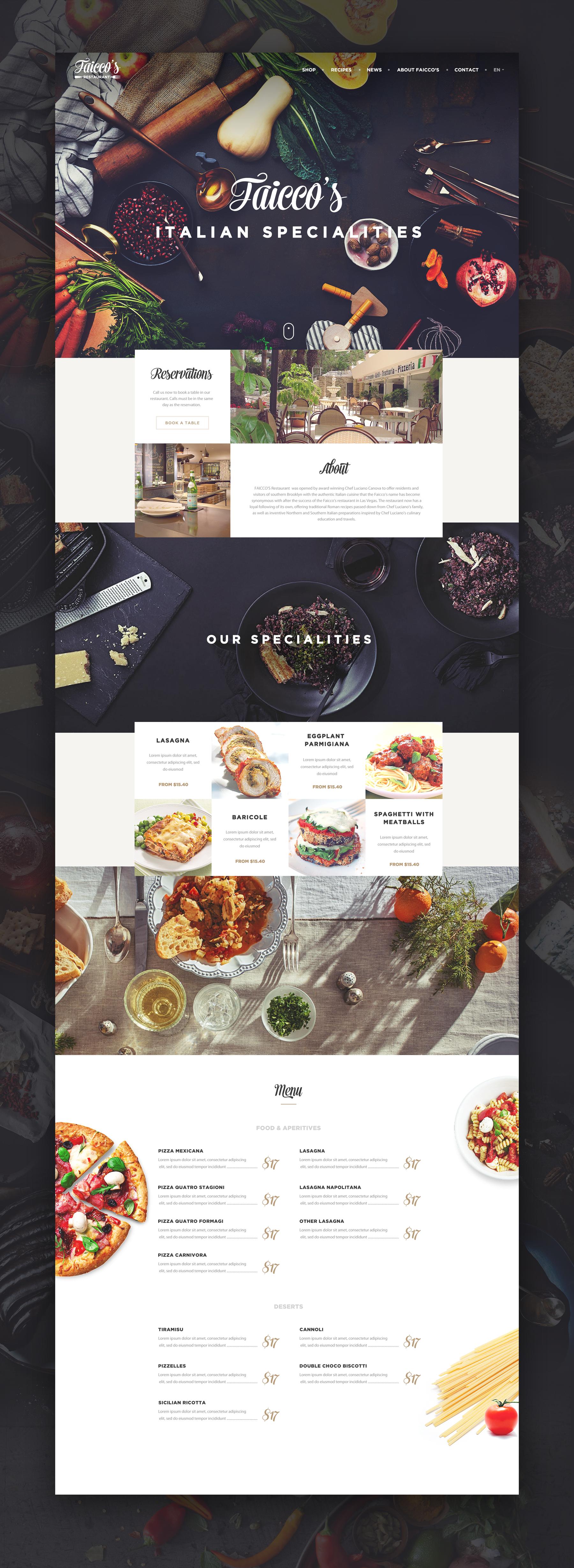 Large Png By Virgil Pana Web Layout Design Website Design Inspiration Food Web Design