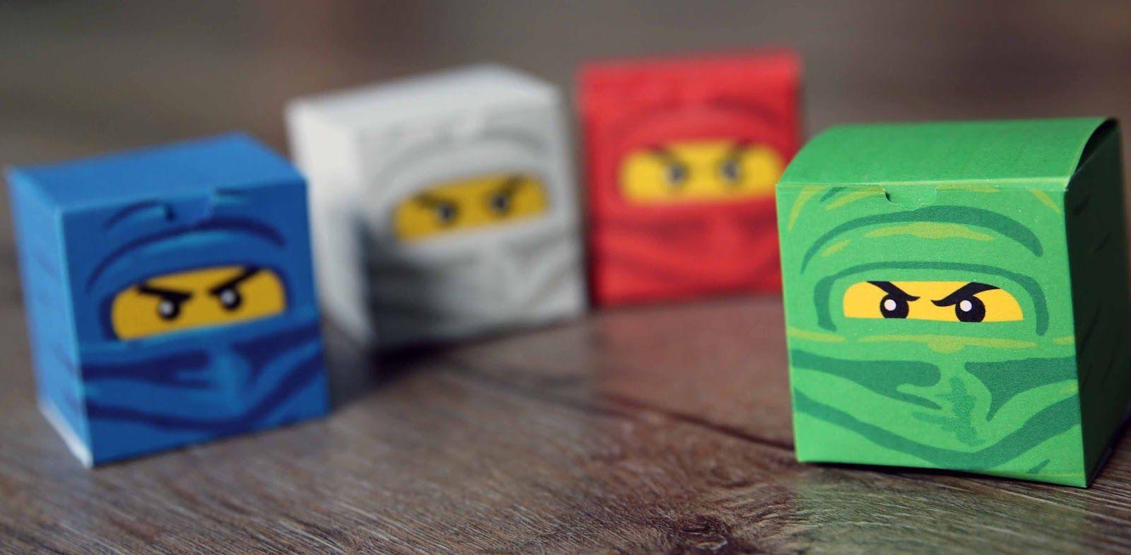 Ninjago Einladung Basteln: Hallo Wieder Ist Ein Jahr Um... Und Mein Sohn Ist Immer