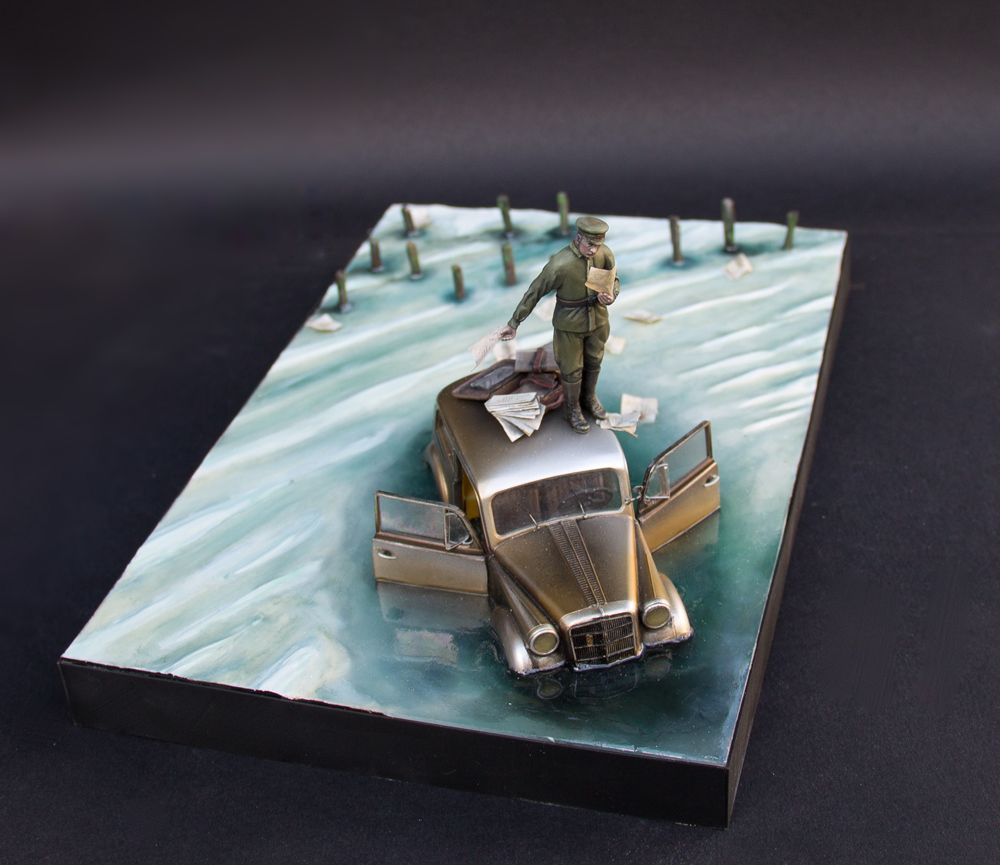 Memel (feat. Vlaidimir Putin) -1/35 diorama from JBA   jbadiorama