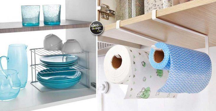 Accessori per organizzare i mobili in cucina idee da vedere
