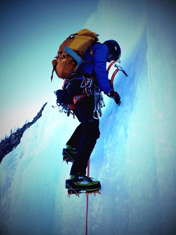 I'm no hero in the mountains, that's for sure, but if there's one area in which I'm undeniably unheroic, it's on ice. I climb 5.10 perfectly fine, ski pretty well, usually nail my technical systems, but ice…well, let's just say there's room for improvement.