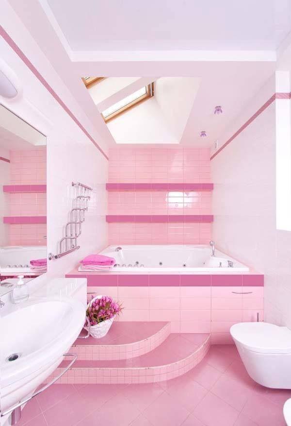 Para niña   Diseños de dormitorio de niñas, Baños para ...