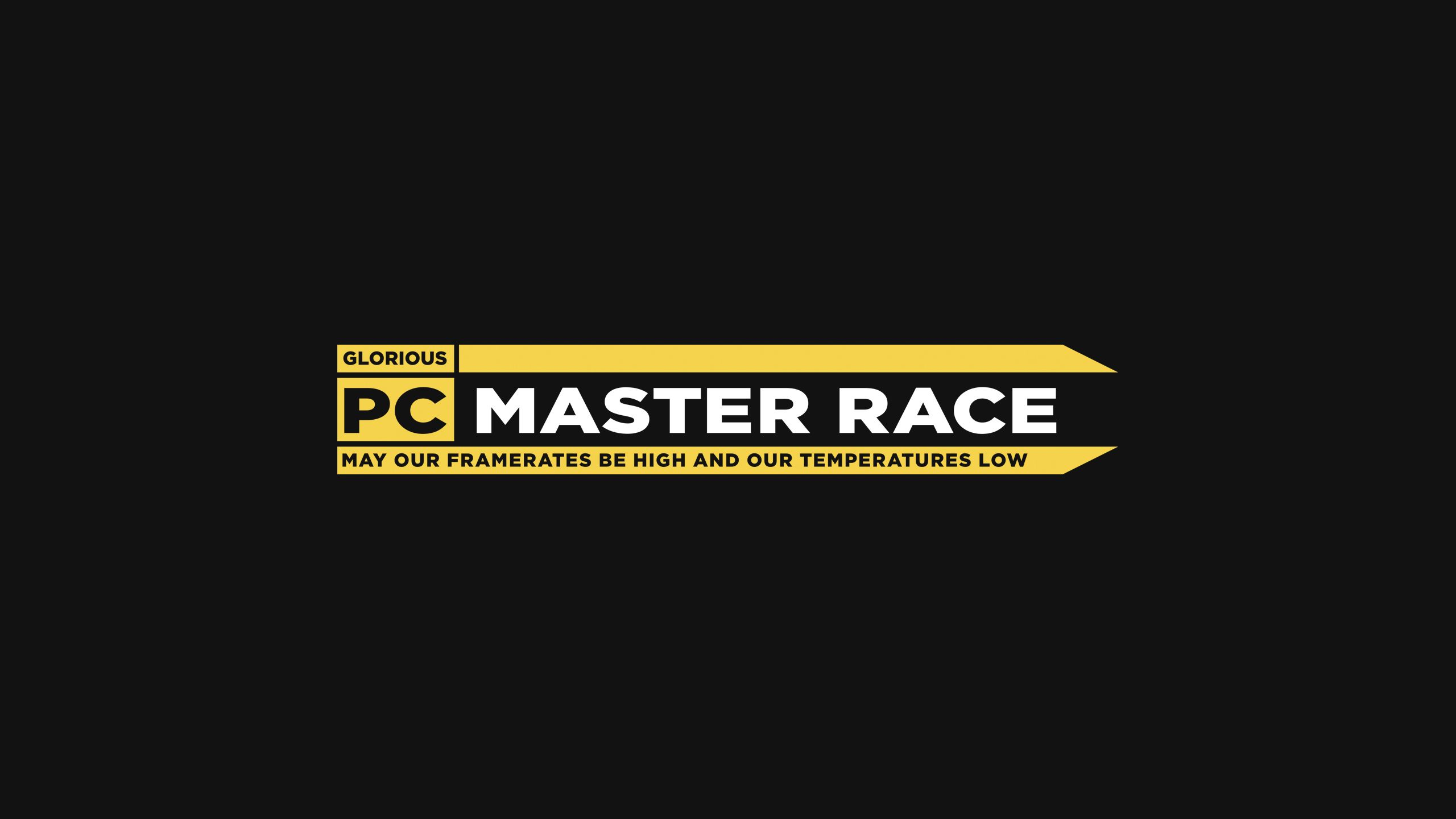 Pcmr Logo 2560x1440 Xpost From R Pcmasterrace Logos
