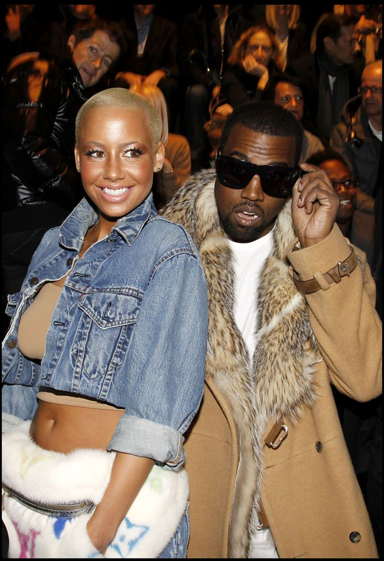 Kanye Wades Into This Amber Rose/Kardashian Feud, Shuts It