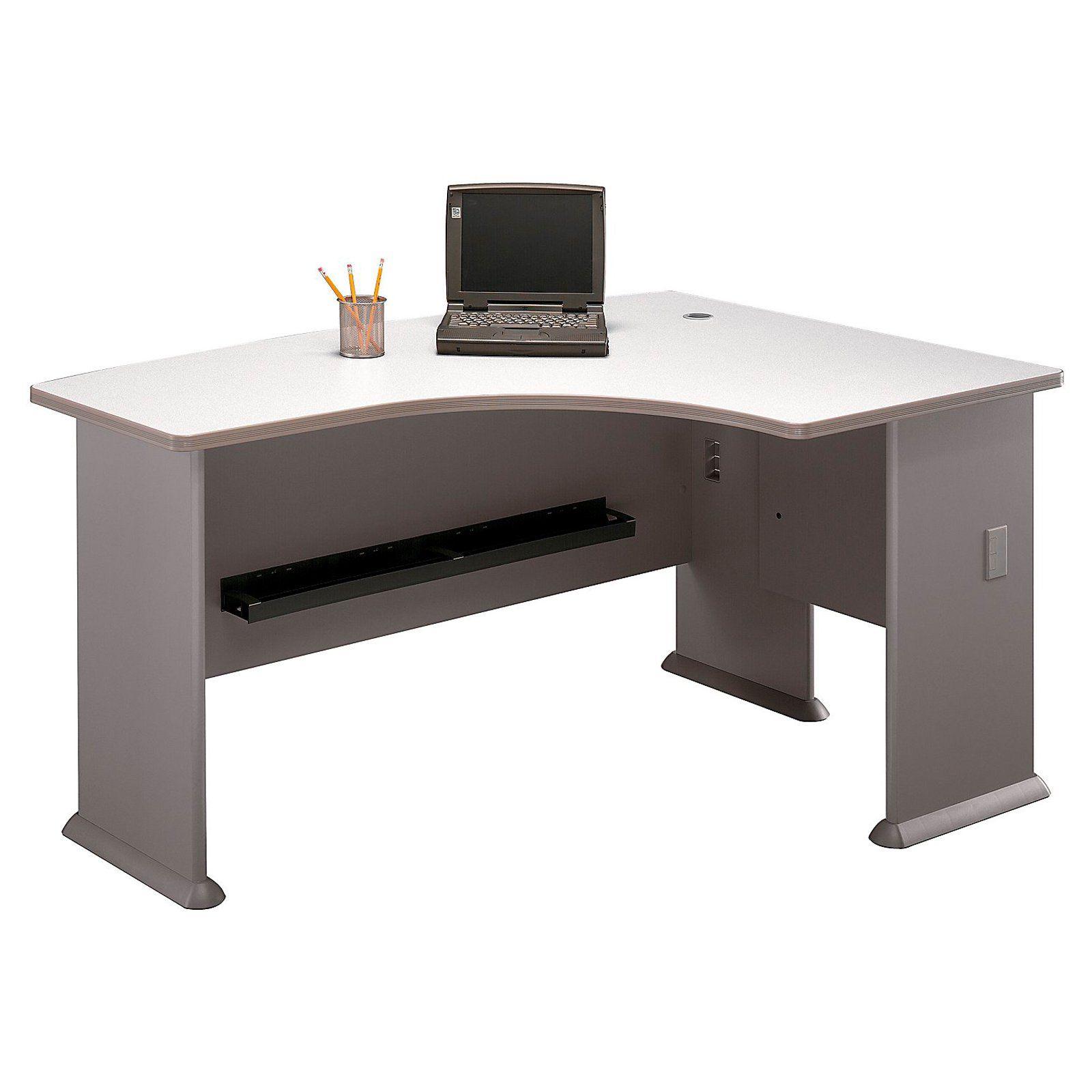 Bush Series A Right L-Bow Desk