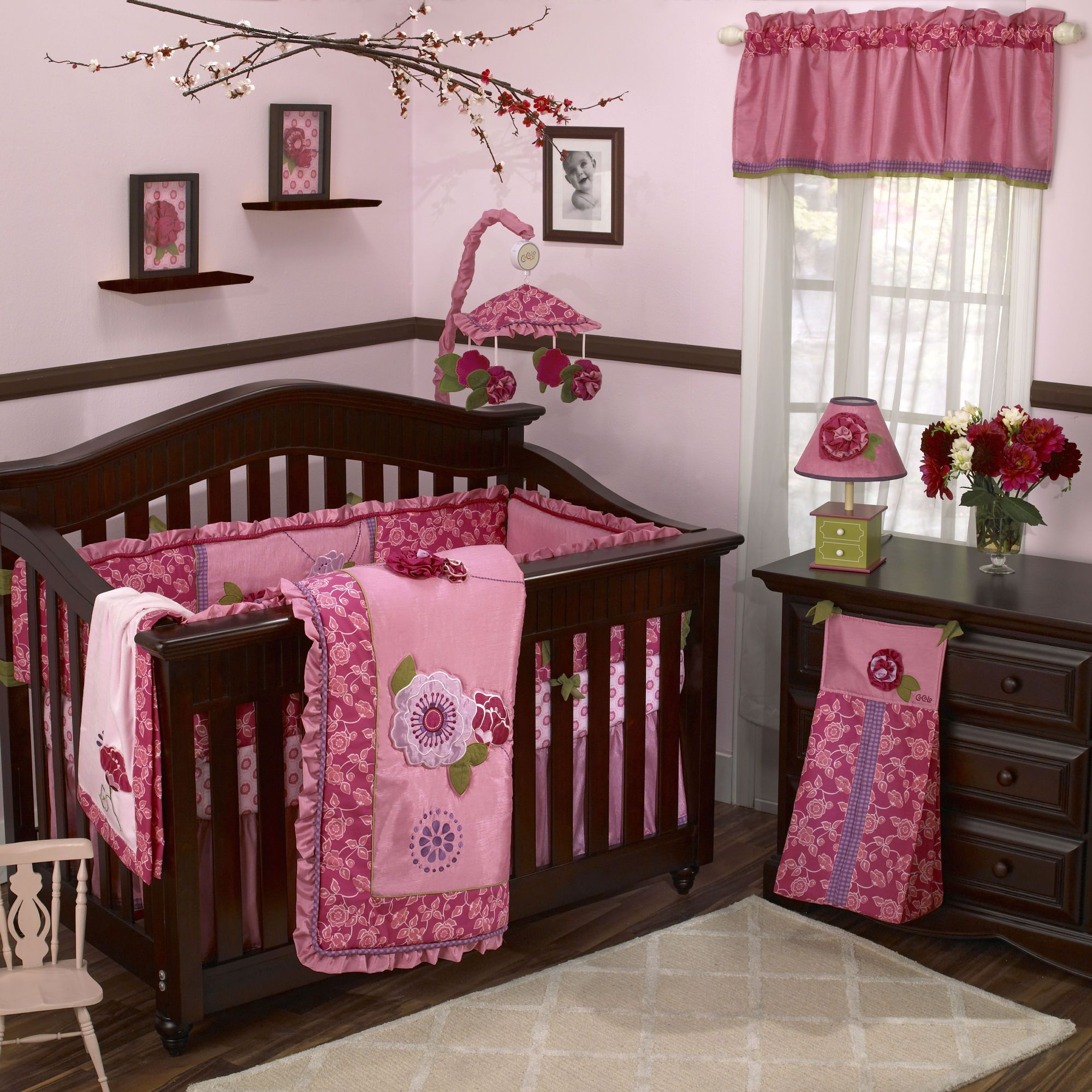 picture perfect: baby girl's room | socialcafe magazine | nursery