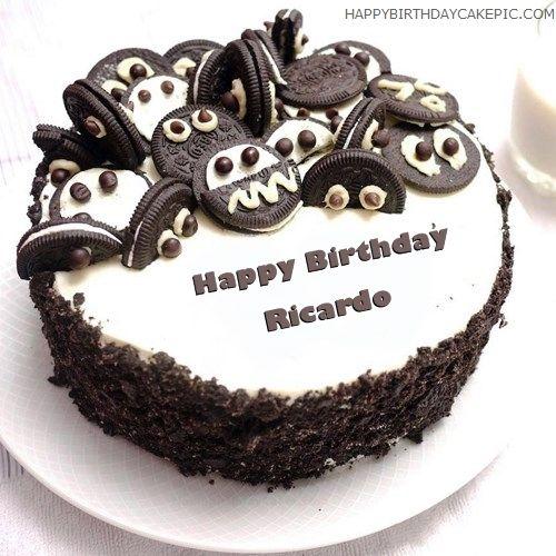 Happy Birthday Ricardo Cake
