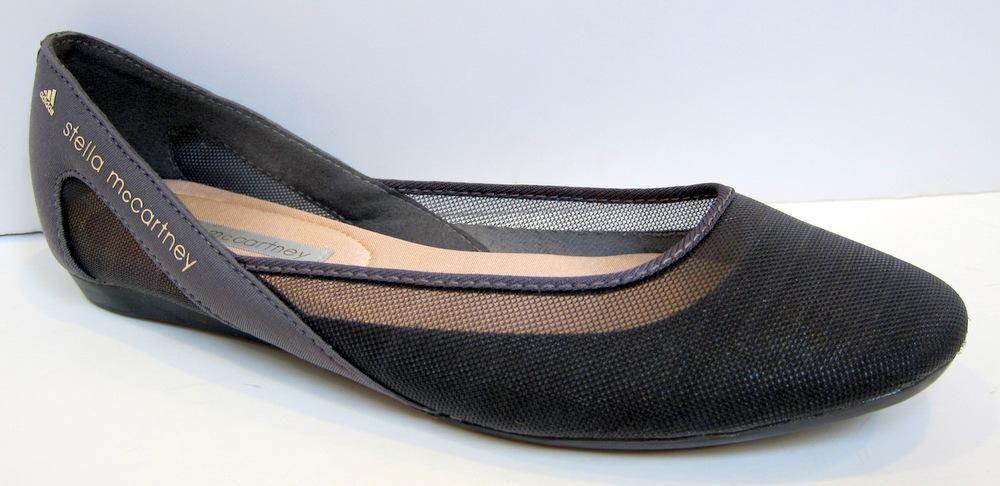 hot sale genuine shoes coupon code adidas by Stella McCartney 'Itran Ballerina' Gray Mesh ...