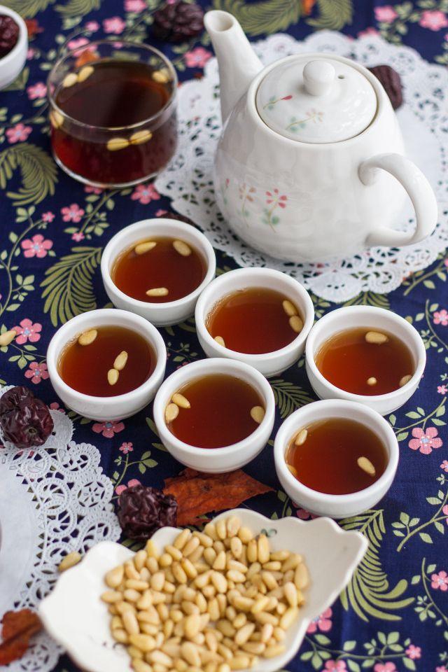 Longan Red Date Ginger Tea