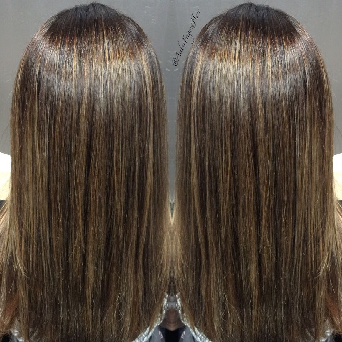 Balayage highlights with a brazilian blowout beautiful hair balayage highlights with a brazilian blowout pmusecretfo Image collections