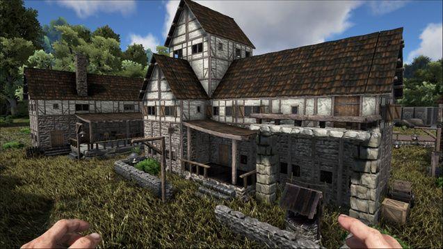 Steam workshop medieval structures ark pinterest for Modern house ark