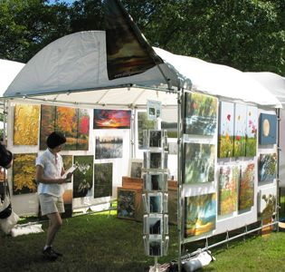Walls for displaying pictures TrimLine Canopy and MeshPanel Display Walls - Robert Anderson : flourish tent - memphite.com