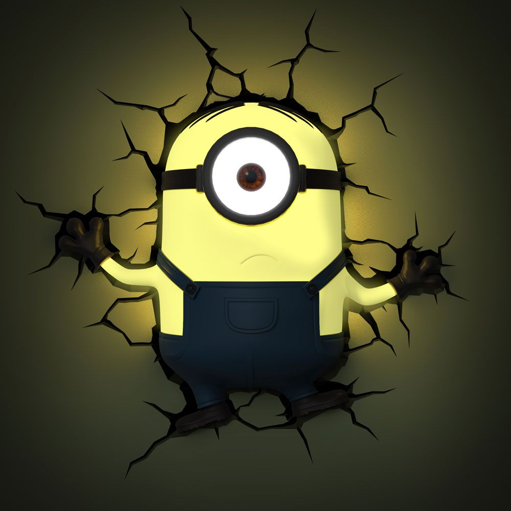 3D Light FX Minions – Stuart | kids | Pinterest | Transformers film