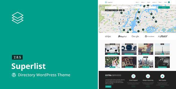 Superlist v2.8.5 Directory WordPress Theme Blogger Template | Web ...