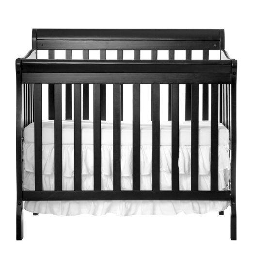 Amazon Com Dream On Me 4 In 1 Aden Convertible Mini Crib Espresso Baby Cribs For Small Spaces Baby Cribs Convertible Cribs
