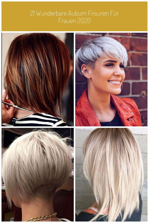 21 Wunderbare Auburn Frisuren Fur Frauen 2020 Haare Haarschnitt Frisuren Auburn Trendfrisuren Hairstyles Haarschnitt Kurz Haarschnitt Pixie Haarschnitt