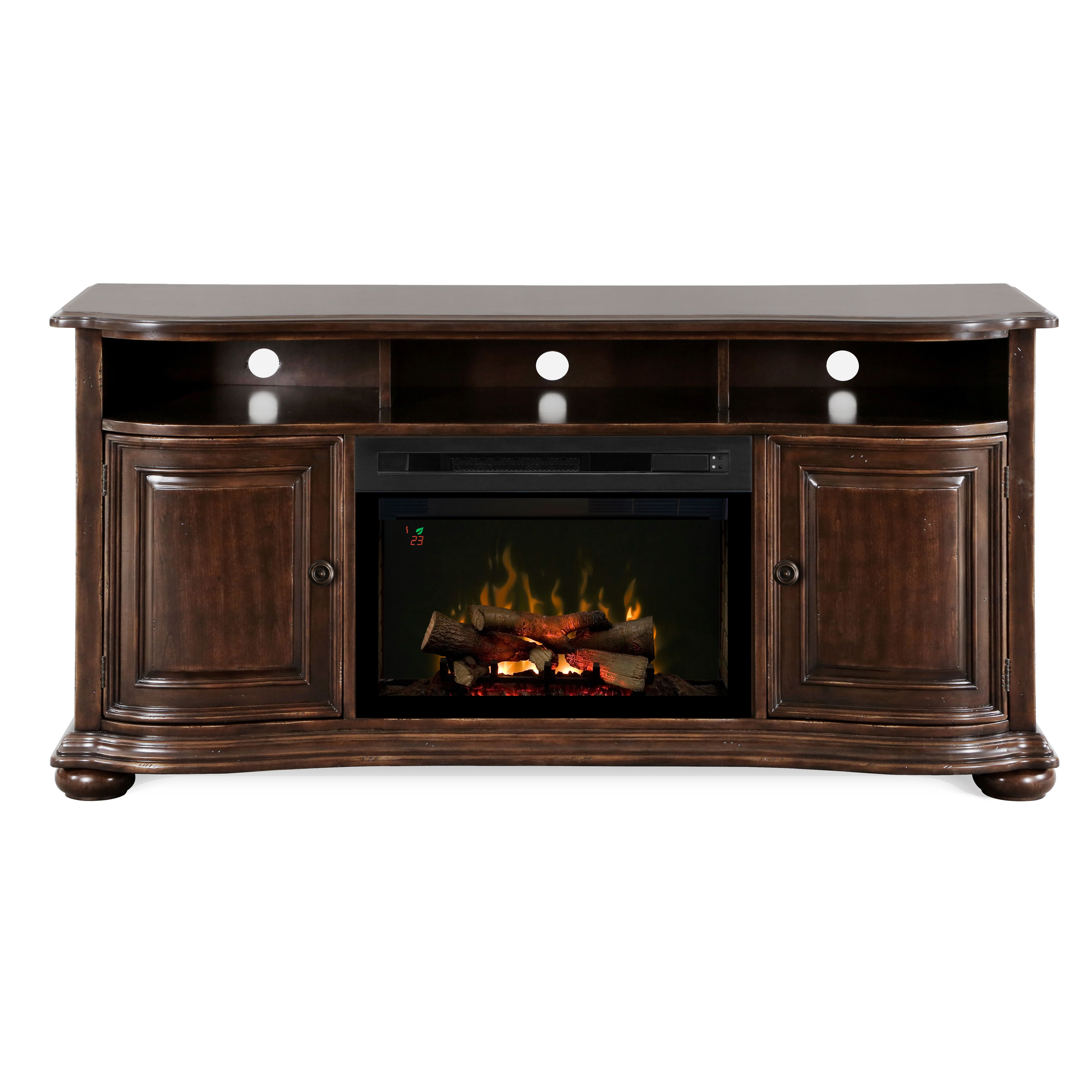 Henderson Tv Stand With Electric Fireplace At Wayfair 1600