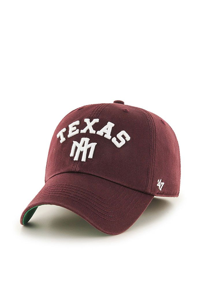 super popular 1265f 1a816  47 Texas A M Aggies Mens Maroon Franchise Fitted Hat.