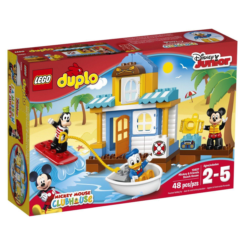 Lego Disney Mickey Friends Beach House 10827 Lego Duplo Toddler Toys Duplo Mickey Mouse