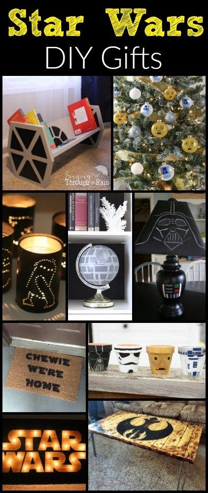 Star wars the ultimate gift guide star star wars gifts and gift star wars diy solutioingenieria Images