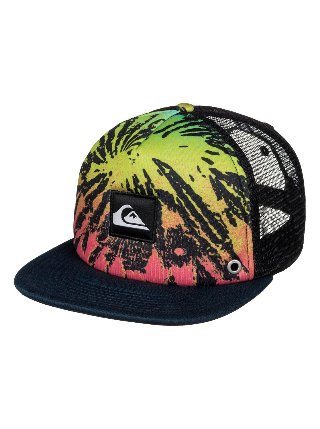 ef2a3fbe3e3 Loving this Glitched Fiery Coral Boardies Trucker Hat on