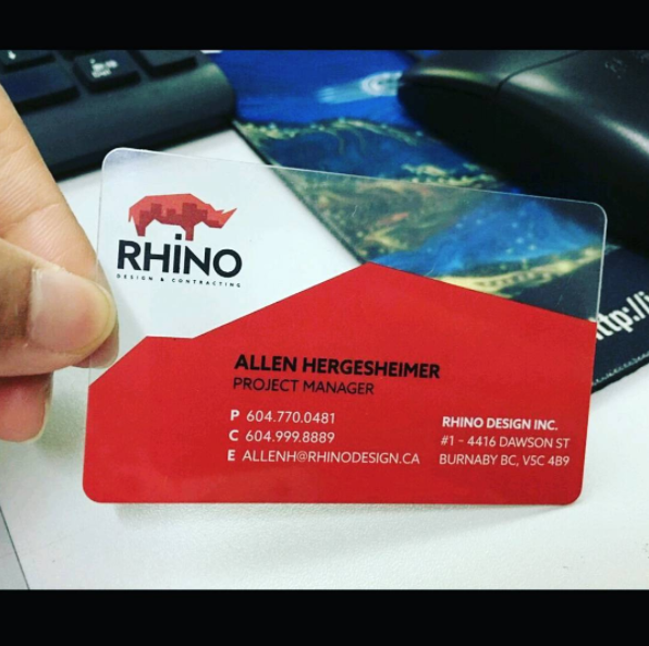 Transparent Business Cards Transparent Business Cards Plastic Business Cards Clear Business Cards