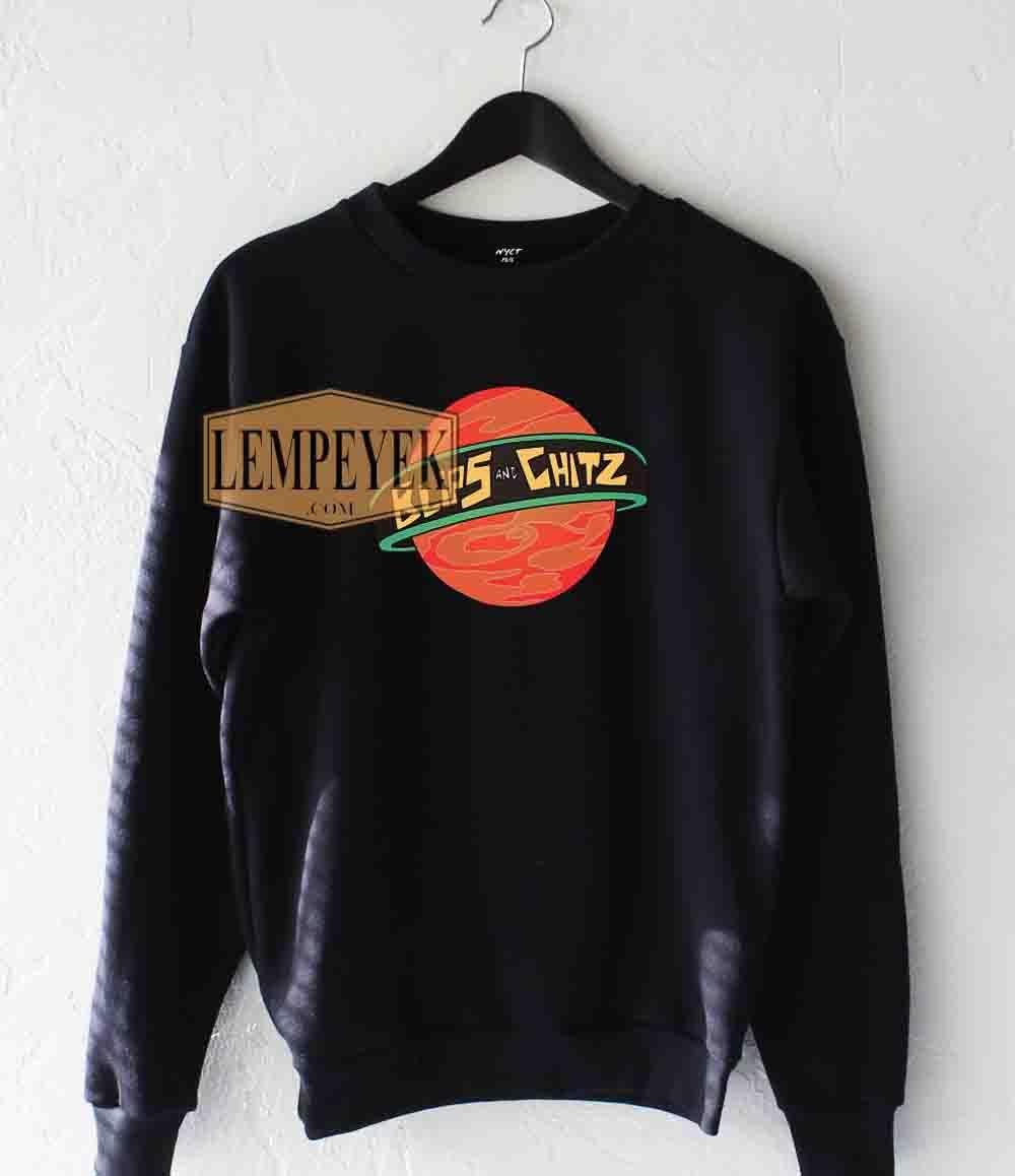Blips and Chitz Sweatshirt Unisex Size S-3XL