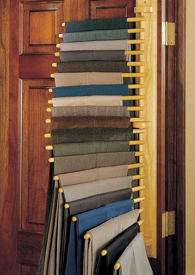 The Closet Organizing 20 Trouser Rack A Perfect Rack For Scarves/veils Etc.  I Need That!!!
